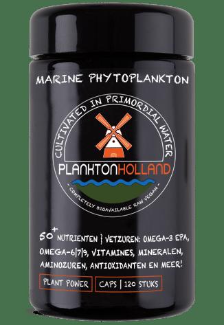 plankton capsules 120 stuks violet glas