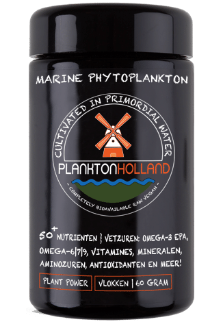 plankton vlokken 60 gram violet glas